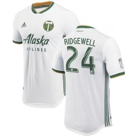 Portland Timbers Authentic Away Shirt 2018 with Valeri 8 printing
