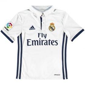 Real Madrid Home Shirt 2016-17 - Kids with Campeones 33 printing