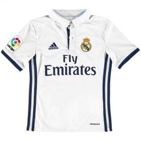 Real Madrid Home Shirt 2016-17 - Kids with Champions 12 printing