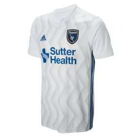 San Jose Earthquakes Away Shirt 2018 with Amarikwa 25 printing
