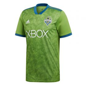 Seattle Sounders Home Shirt 2018 with Leerdam 18 printing