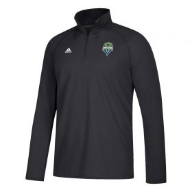Seattle Sounders LC Logo Set Fleece - Black