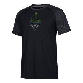 Seattle Sounders Redirection Logo T-Shirt - Black