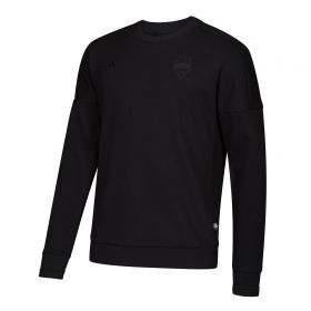 Seattle Sounders Tango Crew Sweatshirt - Black