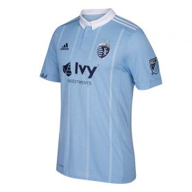 Sporting Kansas City Authentic Home Shirt 2018 with Besler 5 printing