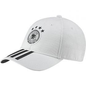 Germany 3 Stripe Cap - White