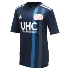New England Revolution Home Shirt 2018 - Kids with Nguyen 24 printing