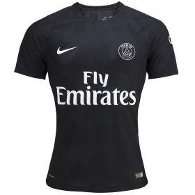 Paris Saint-Germain Third Vapor Match Shirt 2017-18 with Yuri B 17 printing