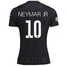 Paris Saint-Germain Third Vapor Match UCL Shirt 2017-18 with Neymar Jr 10 printing