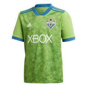 Seattle Sounders Home Shirt 2018 - Kids with Adekoya 12 printing
