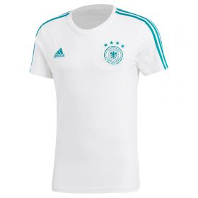 Germany 3 Stripe T-Shirt - White