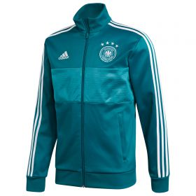 Germany 3 Stripe Track Top - Green