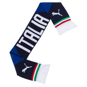 Italy Fan Scarf - Blue