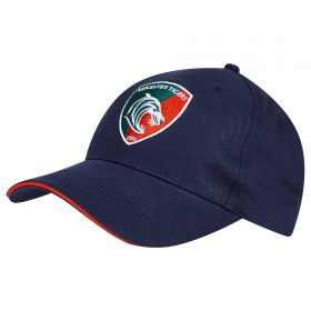 Leicester Tigers Baseball Cap - Junior - Navy