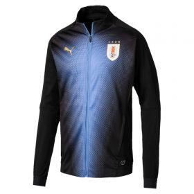 Uruguay Training Stadium Jacket - Black