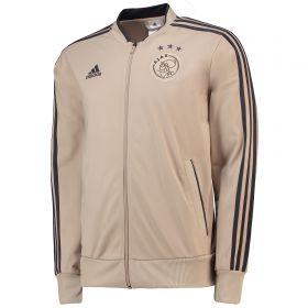 Ajax Training Knitted Presentation Jacket - Gold - Kids