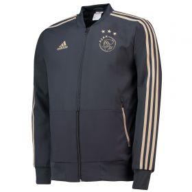 Ajax Training Woven Presentation Jacket - Dark Grey