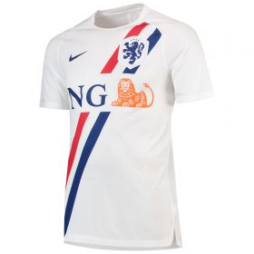 Netherlands Squad Graphic Training Top - White