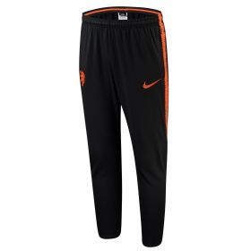 Netherlands Squad Training Pants - Black