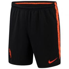Netherlands Squad Training Shorts - Black
