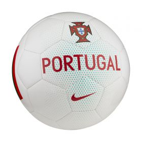 Portugal Supporters Football - White - Size 5