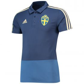 Sweden Training Polo - Blue