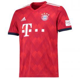 Bayern Munich Home Shirt 2018-19 with James 11 printing