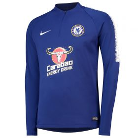 Chelsea Squad Drill Top - Blue