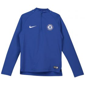 Chelsea Squad Drill Top - Blue - Kids