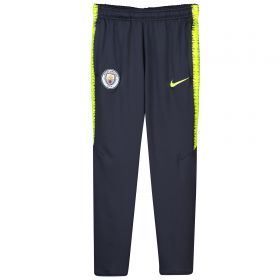 Manchester City Squad Training Pants - Dark Blue - Kids
