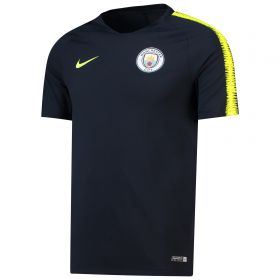Manchester City Squad Training Top - Dark Blue