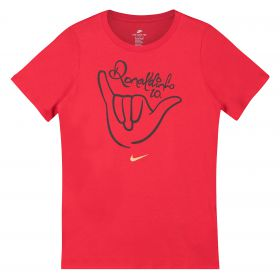 Nike 10R Logo T-Shirt - Red - Kids