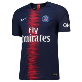 Paris Saint-Germain Home Vapor Match Shirt 2018-19 with Champions 18 printing