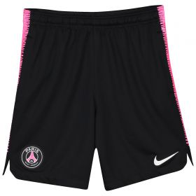 Paris Saint-Germain Squad Training Shorts - Black - Kids