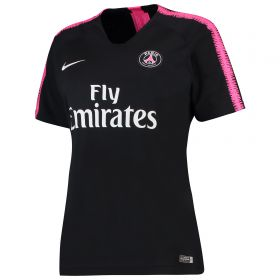 Paris Saint-Germain Squad Training Top - Black - Womens