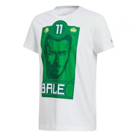 adidas Gareth Bale Graphic T-Shirt - White
