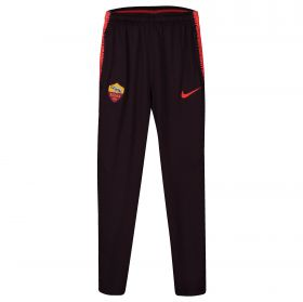 AS Roma Squad Training Pants - Burgundy - Kids
