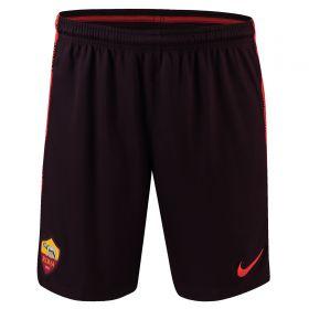 AS Roma Squad Training Shorts - Burgundy