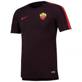 AS Roma Squad Training Top - Burgundy