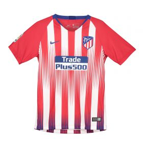 Atlético de Madrid Home Stadium Shirt 2018-19 - Kids with Vrsaljko 16 printing