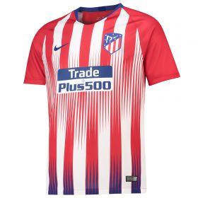 Atlético de Madrid Home Stadium Shirt 2018-19 with Juanfran 20 printing