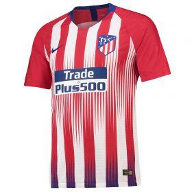 Atlético de Madrid Home Vapor Match Shirt 2018-19 with Vrsaljko 16 printing