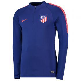 Atlético de Madrid Squad Drill Top - Royal Blue