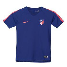 Atlético de Madrid Squad Training Top - Royal Blue - Kids