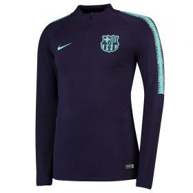 Barcelona Squad Drill Top - Purple