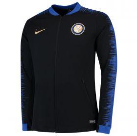 Inter Milan Anthem Jacket - Black