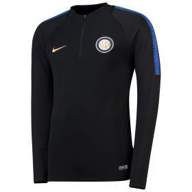 Inter Milan Squad Drill Top - Black