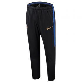Inter Milan Squad Training Pants - Black