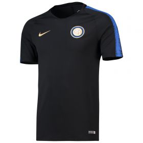 Inter Milan Squad Training Top - Black