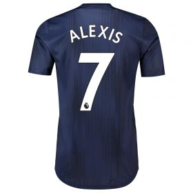 Manchester United Third Adi Zero Shirt 2018-19 with Alexis 7 printing